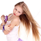 Little blond beauty Stock Photography