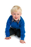 Little blond child Royalty Free Stock Image