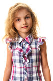 Little blond child girl portrait Stock Image