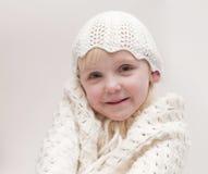 Little blond girl Royalty Free Stock Image