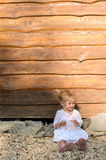 Little blond girl Royalty Free Stock Photo