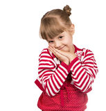 Little blond girl Royalty Free Stock Photography