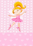 Little blond princess Stock Image