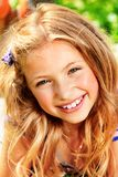 Little blonde Royalty Free Stock Image