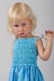 Little blonde Stock Photo