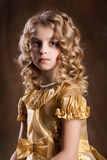 Little Blonde Girl Royalty Free Stock Image