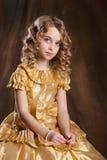 Little Blonde Girl Royalty Free Stock Image