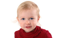 Little Blonde Girl Royalty Free Stock Photo