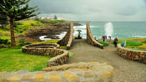 Little Blowhole Royalty Free Stock Images