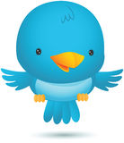 Little Blue Bird Fly. Illustration of Little Blue Bird Fly Royalty Free Stock Photos