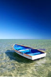 Little Blue Boat Royalty Free Stock Image