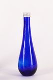 Little blue bottle isolated Royalty Free Stock Photo
