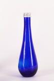 Little blue bottle isolated Royalty Free Stock Photo