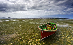 Little Boat Lonly Royalty Free Stock Images