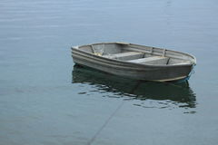 Little boat in marina Royalty Free Stock Images