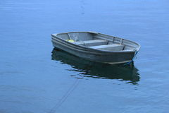 Little boat in marina Royalty Free Stock Photo