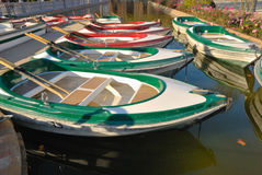 Little boats Royalty Free Stock Image
