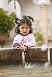 Little Bolivian girl Royalty Free Stock Photos