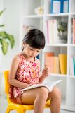 Little book lover Royalty Free Stock Images