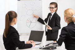 Little boss and. Stock Images