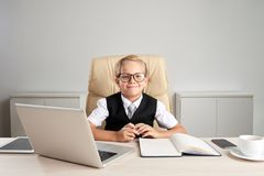 Little boss Stock Photos