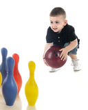 Little Bowler Royalty Free Stock Photography