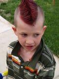 Little boy. Mohawk Stock Images