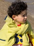 Little boy. Four years old italian boy at the seaside Royalty Free Stock Photo