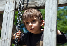 The little boy Stock Photography