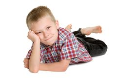 Little Boy stockbild