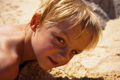 Little Boy Royalty-vrije Stock Fotografie