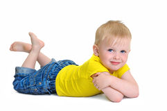 Little Boy imagem de stock royalty free
