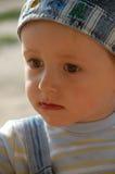 Little boy. Portrait of the sad little boy Stock Photography