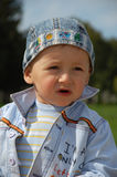 Little boy. The portrait of the little cute boy Royalty Free Stock Photography