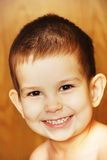 The little boy. Beautifully smiling young little boy Royalty Free Stock Image