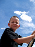 Little boy. Boy at play Stock Images