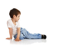 The little boy Royalty Free Stock Photography