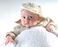 Little boy. Baby portrait Stock Images