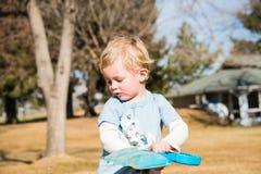 Little Boy au jeu Photos libres de droits