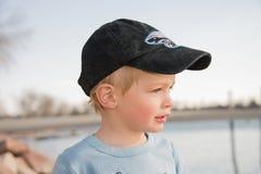 Little Boy au jeu Photos stock