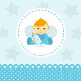 Little boy baby vector Stock Images
