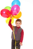 Little boy with balloons. Stock Photography
