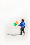 Little Boy with balloons Royalty Free Stock Photo
