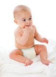 Little boy in bath towel Royalty Free Stock Photo