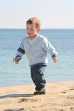Little boy beach portrait 02 Royalty Free Stock Photo