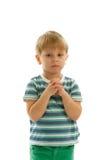 Little Boy betete Lizenzfreie Stockbilder