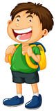 Little boy with big smile Royalty Free Stock Photos