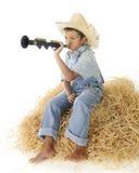 Little Boy Blue Royalty Free Stock Photos