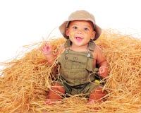 Little Boy Blue-Eyes Stock Photos