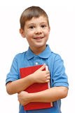 Little boy with book Royalty Free Stock Images